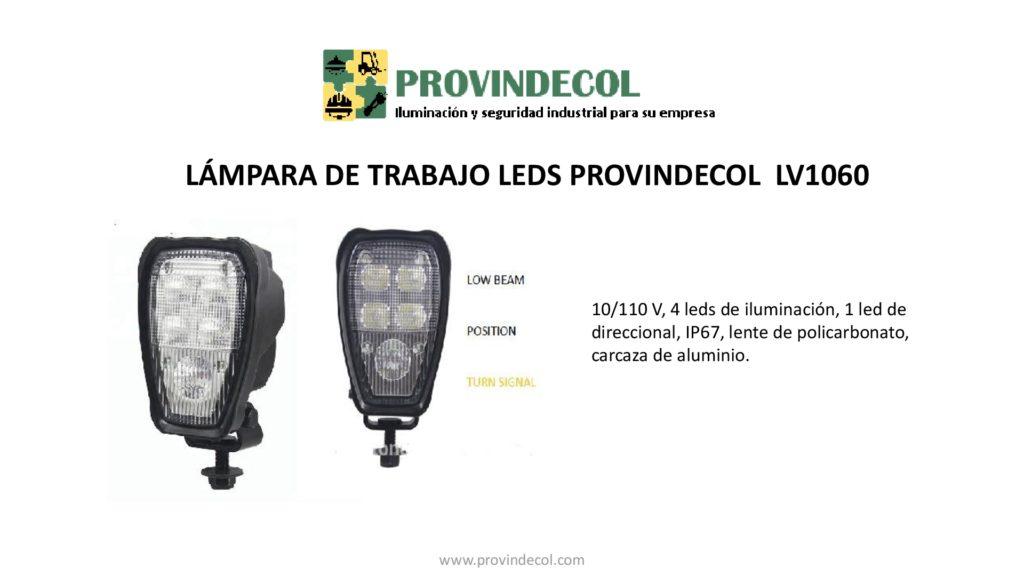 Lámpara de trabajo leds PROVINDECOL LV1060