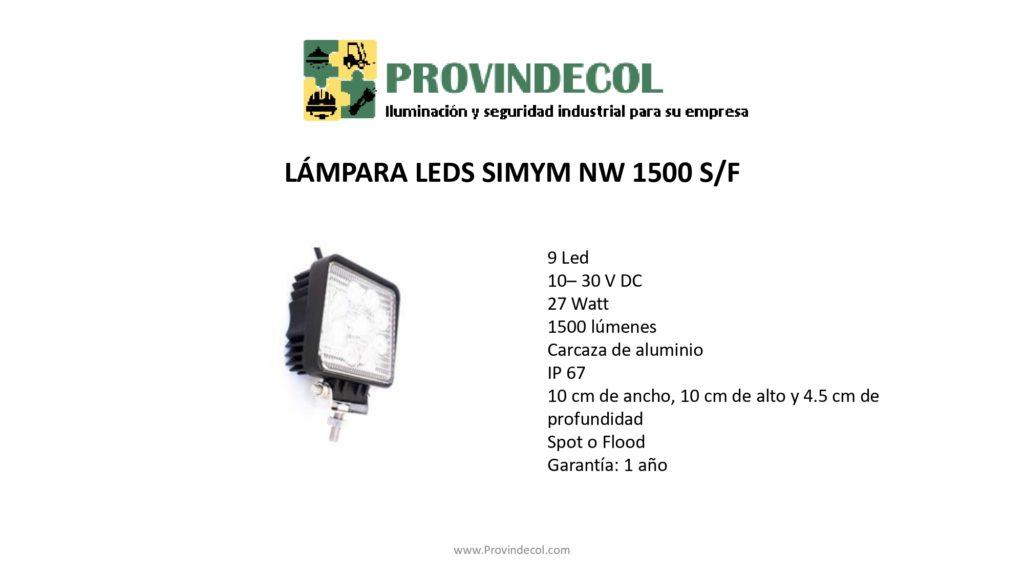 Lámpara leds PROVINDECOL LV1500