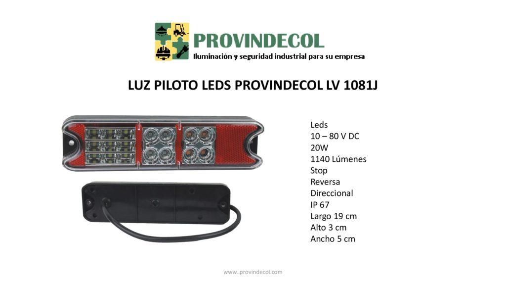 Luz piloto leds PROVINDECOL LV1081J